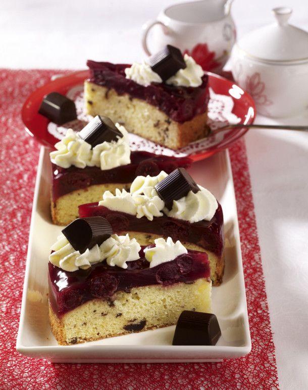 Mon Cheri Torte Mit Kirschkompott Rezept Baking Sweets