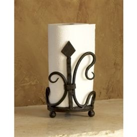 Designed by Bella Toscana's skilled artisans, this holder reflects the quality workmanship for which old world blacksmiths were famed. Now you can have that same quality and ambiance brought into your home.