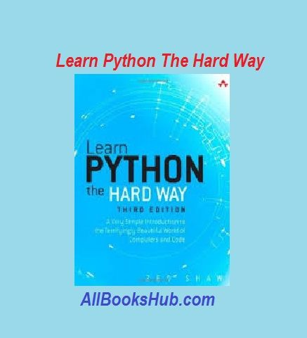 Download Learn Python The Hard Way Pdf Free All Books Hub Books