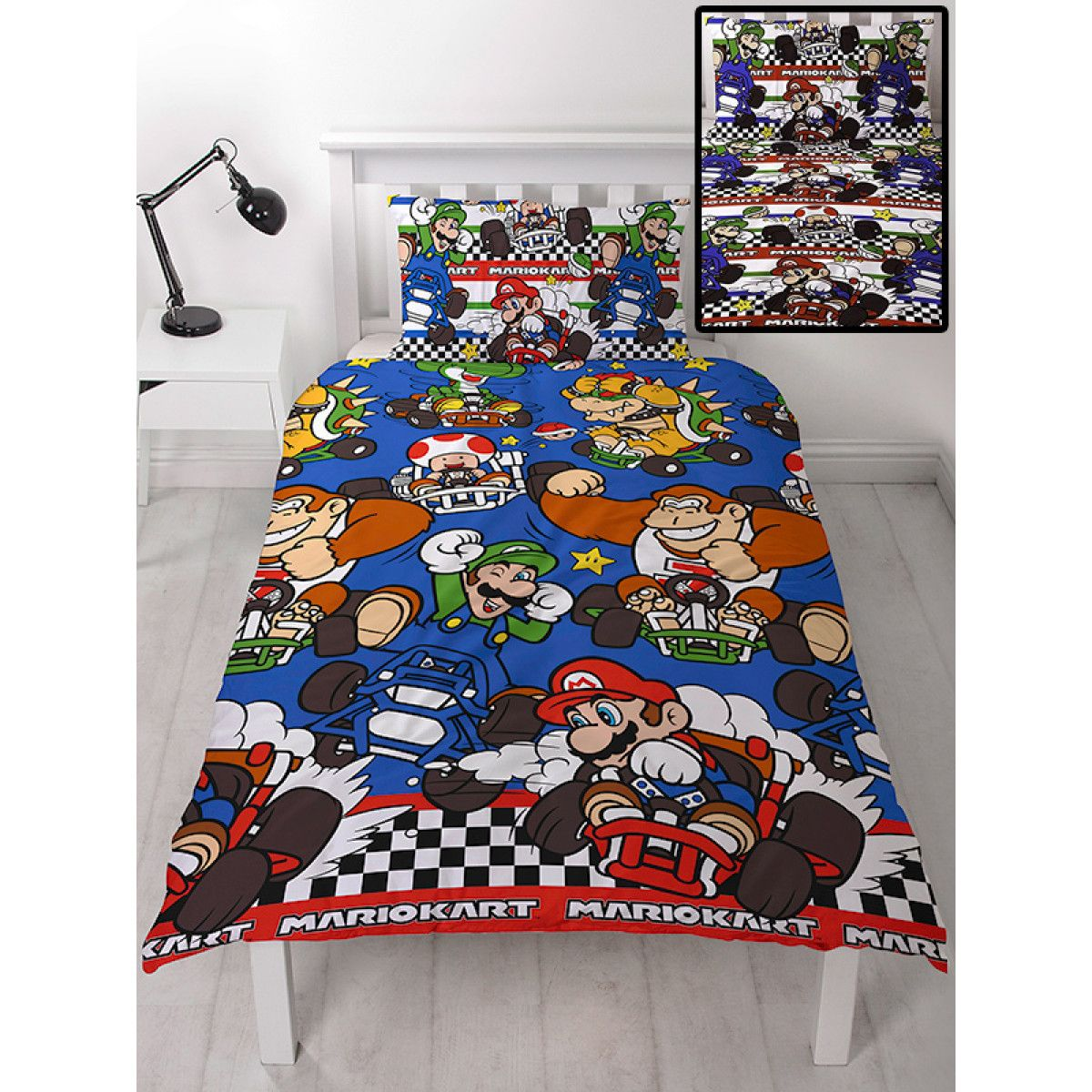 Nintendo Bedding Set In 2020 Quilt Cover Bed Covers Duvet Sizes