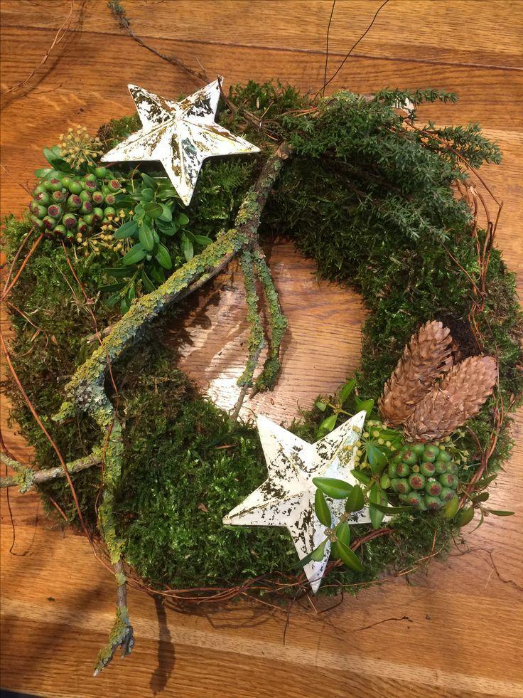 Photo of Door wreath with stars