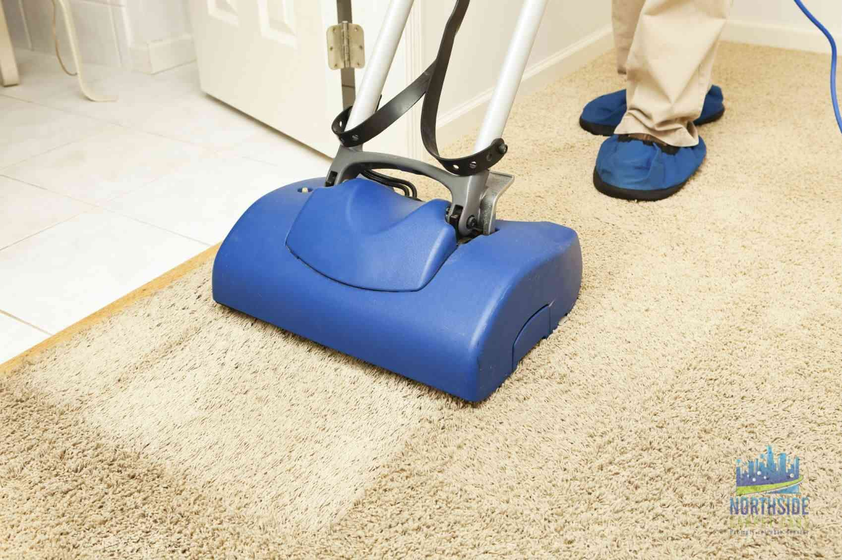 Northside Carpet Care offers wet or dry cleaning suitable