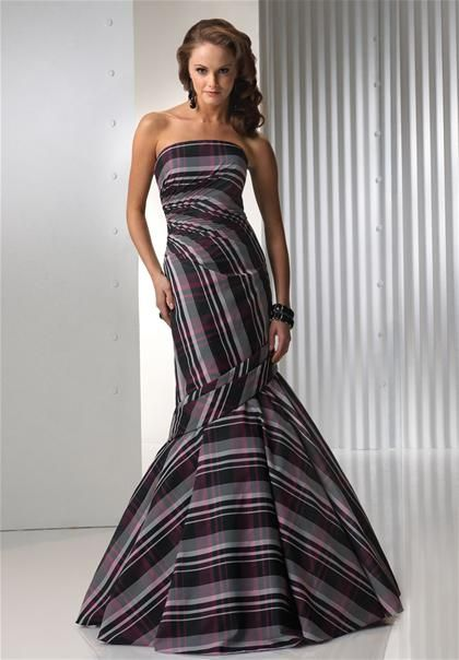 plaid prom dresses | Madison Wi Wedding | Pinterest | Plaid, Prom ...