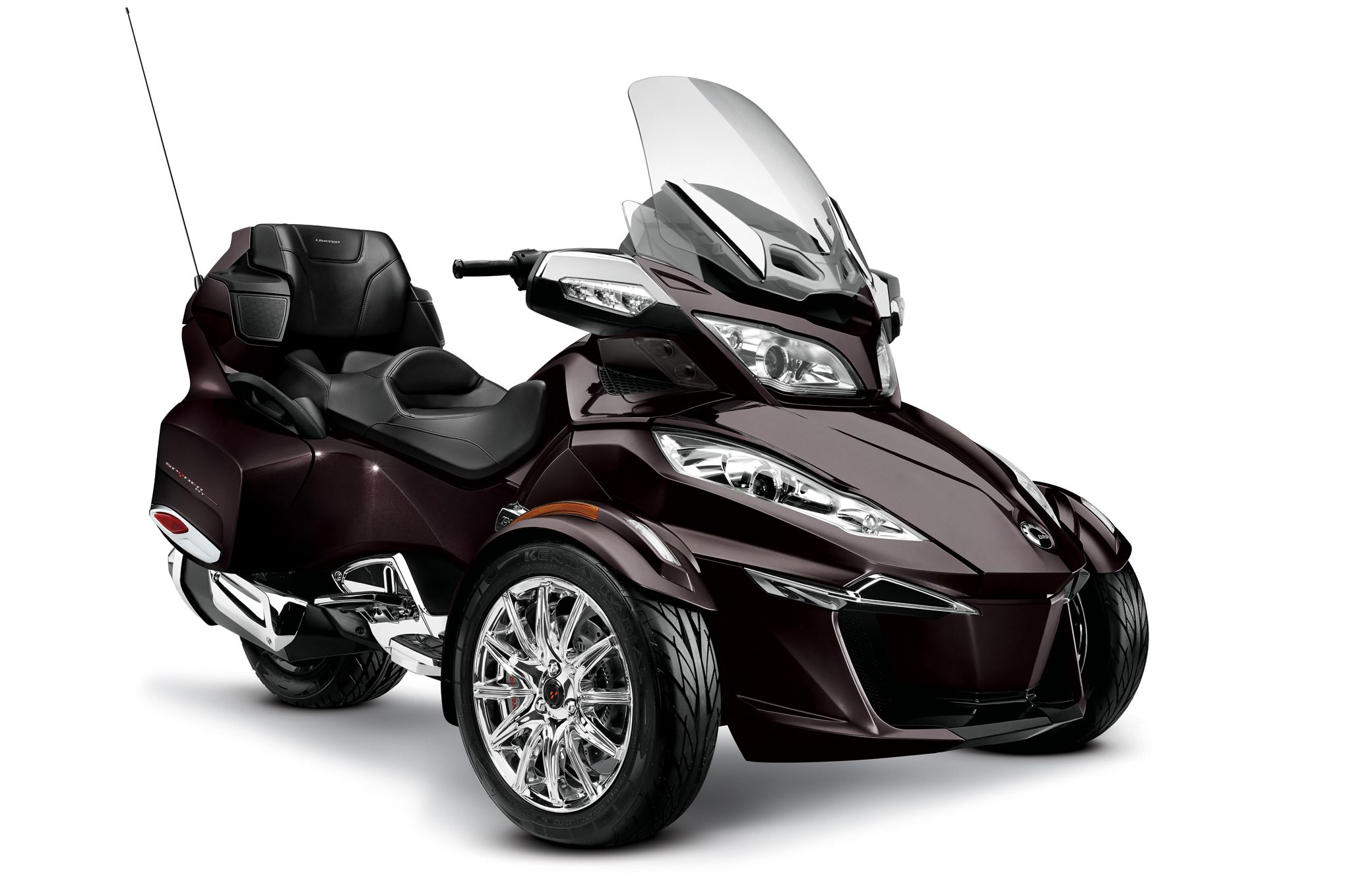 2014 can am spyder rt limited black