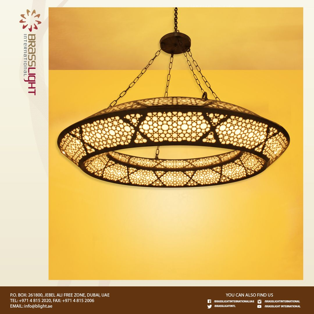 This New Brass Chandelier Is Lit Up By Led Lights From Led Pro This Will Surely Bring Good Light To The Place Wher Moroccan Lanterns Bracket Lights Chandelier