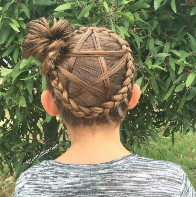 This Mum Does The Most Incredible Braids Every School Day ...