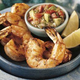 Grilled Shrimp Weber Com Seafood Recipes Grilling Recipes Grilled Shrimp