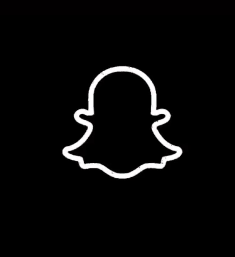 Snapchat Black And White App Icon App Icon Black And White Icon