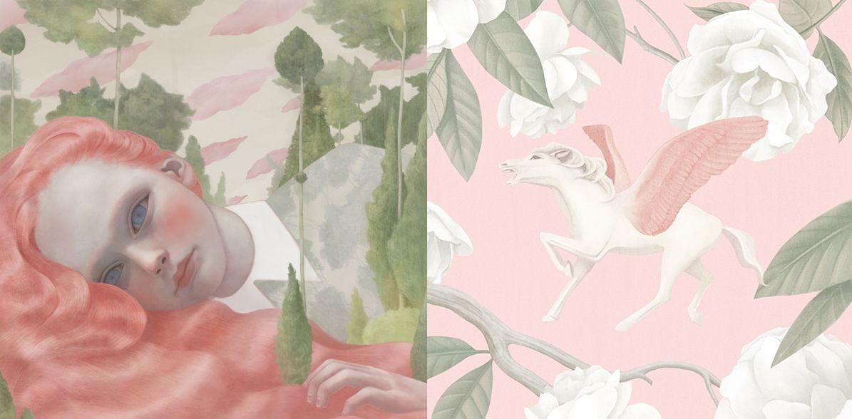 Hsiao-Ron-Cheng-Portraits-Melancholy-cosmic-orgasm-art-magic-unicorn