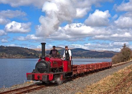 Bala Lake Railway / Rheilffordd Llyn Tegid - Welsh narrow