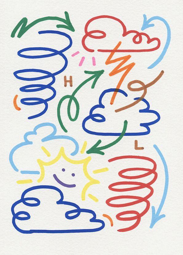 Kiosk_weather | art in 2019 | Graffiti lettering, Element