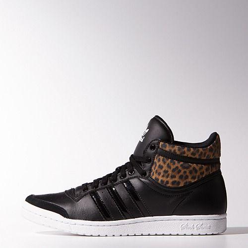 adidas Top Ten Hi Sleek Shoes | Adidas mujer, Zapatillas ...
