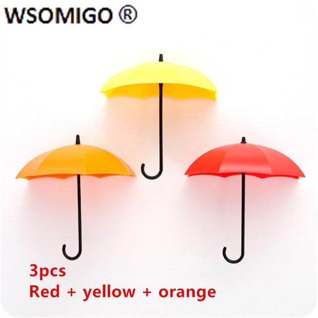 Plastic Umbrella Strong Adhesive Hook - as shown 3