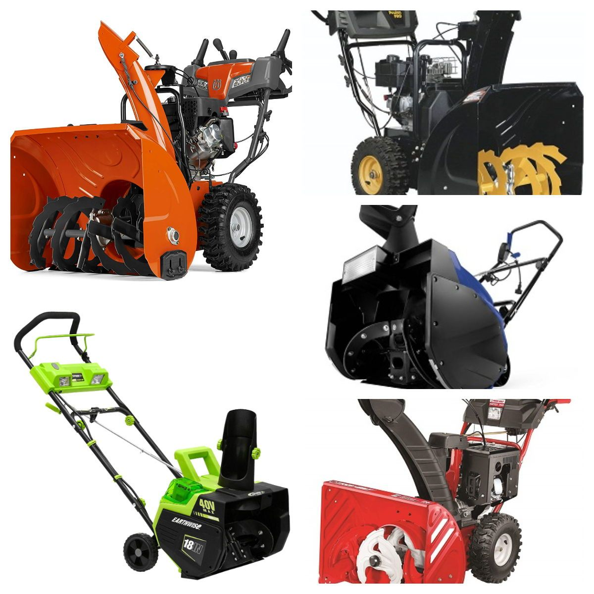 Two Stage Three Stage Snow Blowers To Buy Our Best Picks All
