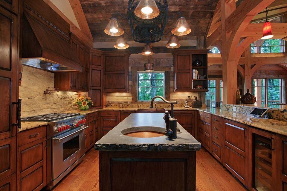 Kitchen Layout Island u-shape kitchen layout with kitchen island | house ideas