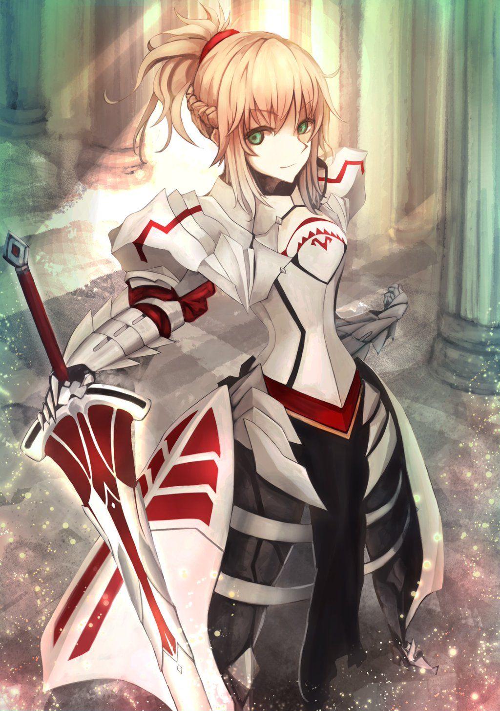 Saber Of Red Mordred