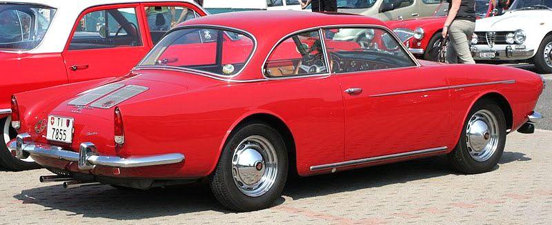 Porsche 356A 2+2 Coupe, 1958, by Beutler. The Swiss coachbuilders ...