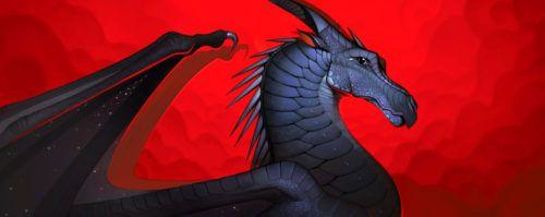 Wings Of Fire Legends Darkstalker Cover Art Wings Of Fire Wings Of Fire Dragons Dragon Wings