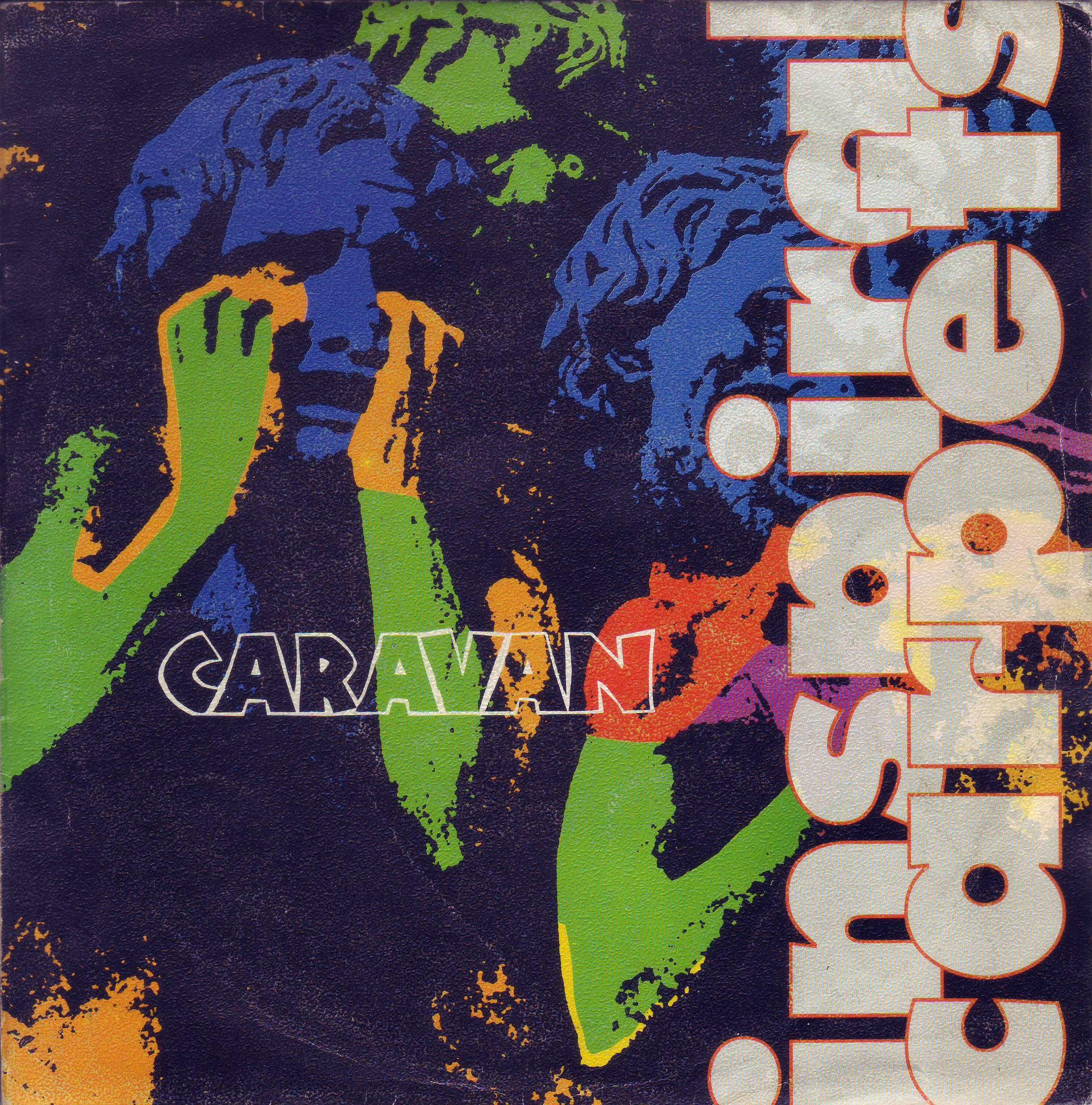 vinyl-inspiral-carpets-caravan-front #portadavinilo #covervinyl #7inch #single #vinilo #vinyl #portada #cover #inspiralcarpets