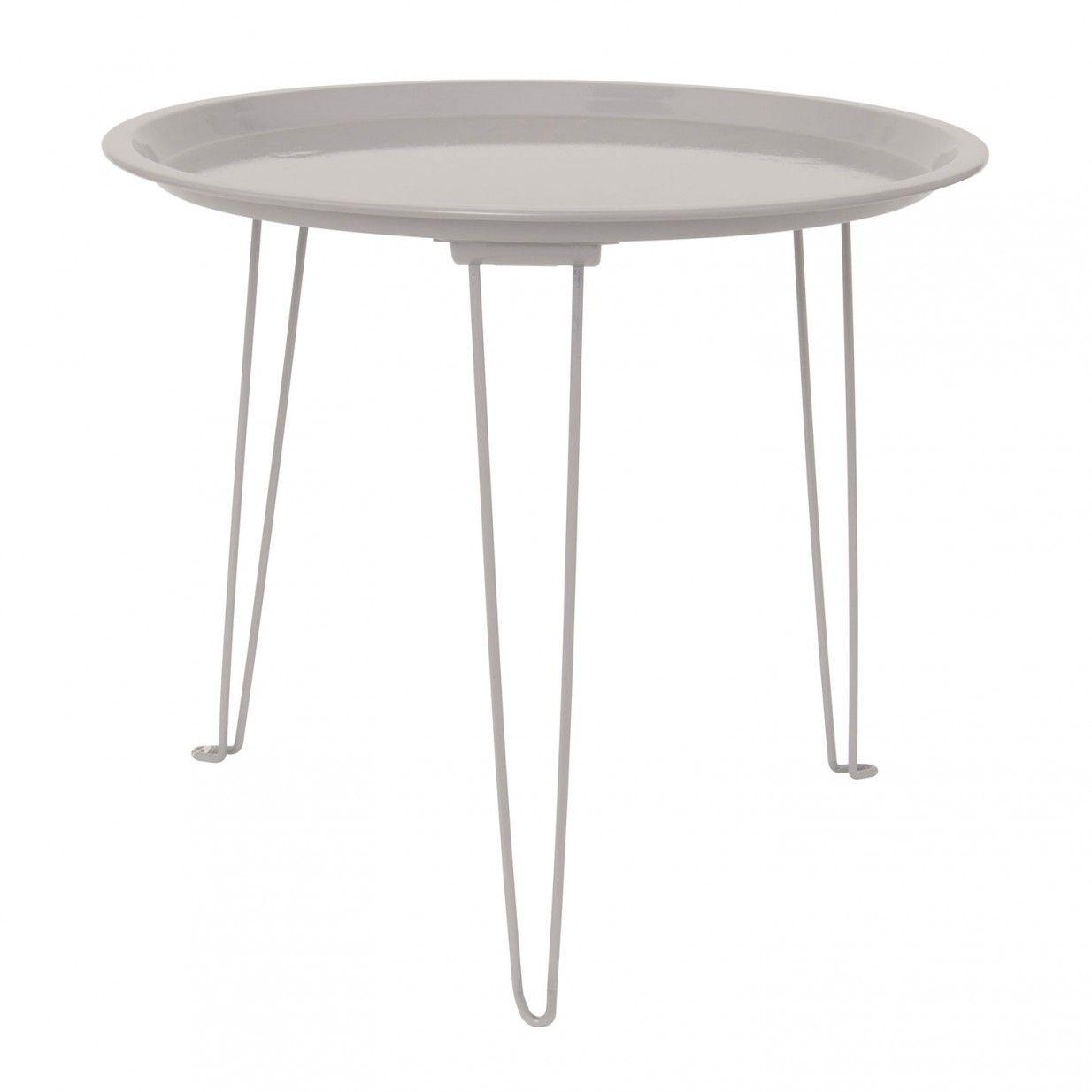 Monoqi Tray Beistelltisch Grau Beistelltische Beistelltisch Grau Moderne Beistelltische