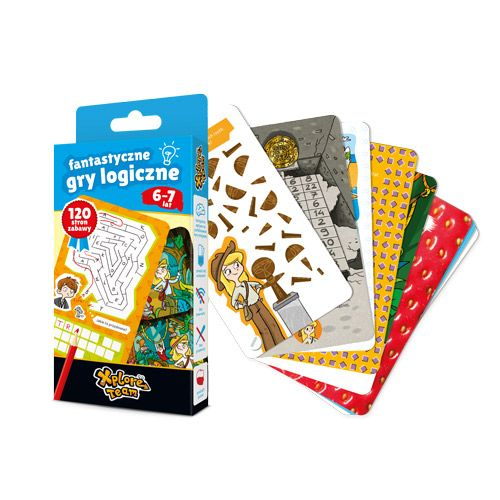 Xplore Team Fantastyczne Gry Logiczne 6 7 Lat Games Monopoly Deal Teams