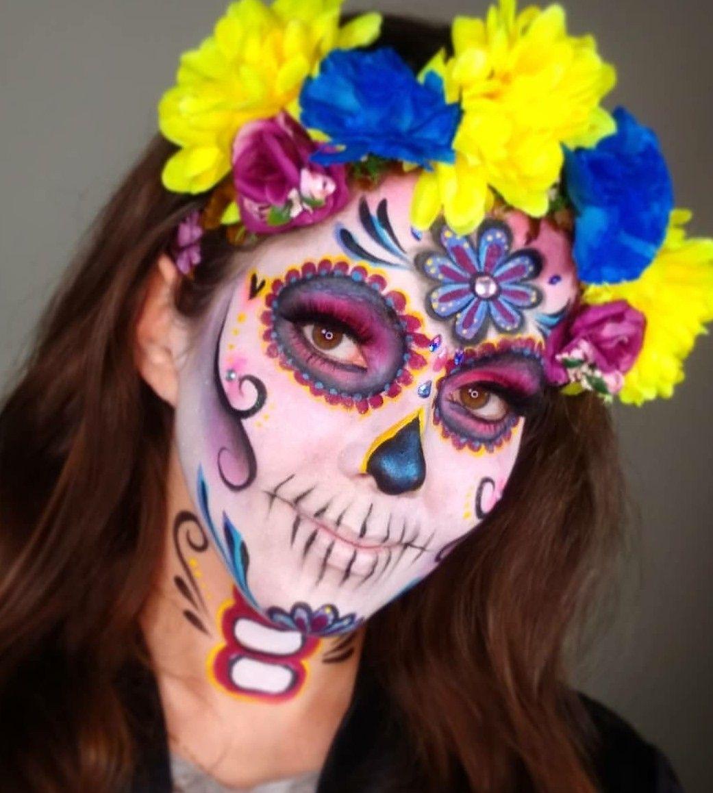 Maquillaje halloween fantasía por Tocca en Dia de los