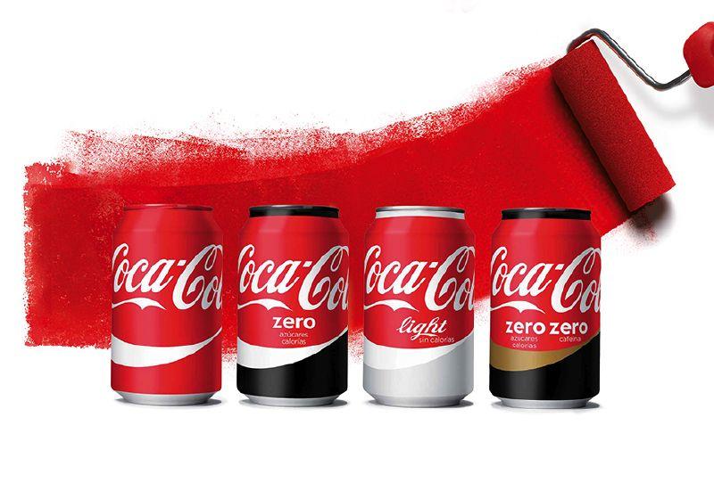 Coca-Cola unifica la imagen de todas sus marcas bajo el rojo ...