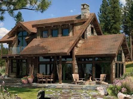 Fachadas de casas rusticas modernas pesquisa google buenas ideas pinterest rusticas - Fachadas rusticas modernas ...