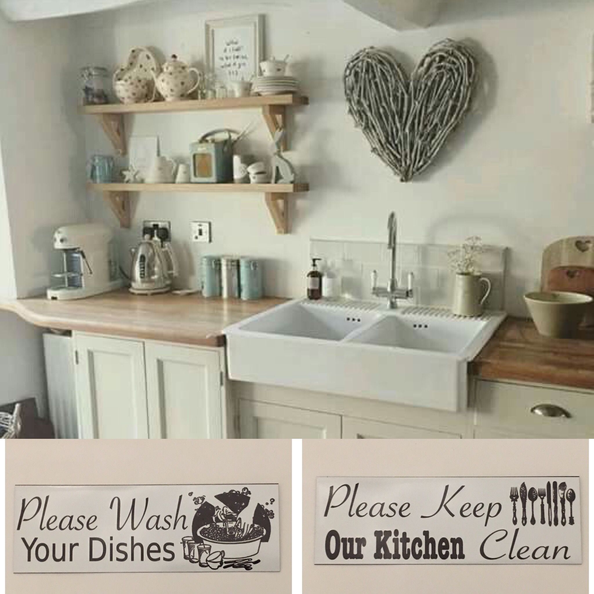 23 Best Cottage Kitchen Decorating Ideas And Designs For 2020: Custom Your Family Name And Year Vintage Sign In 2020