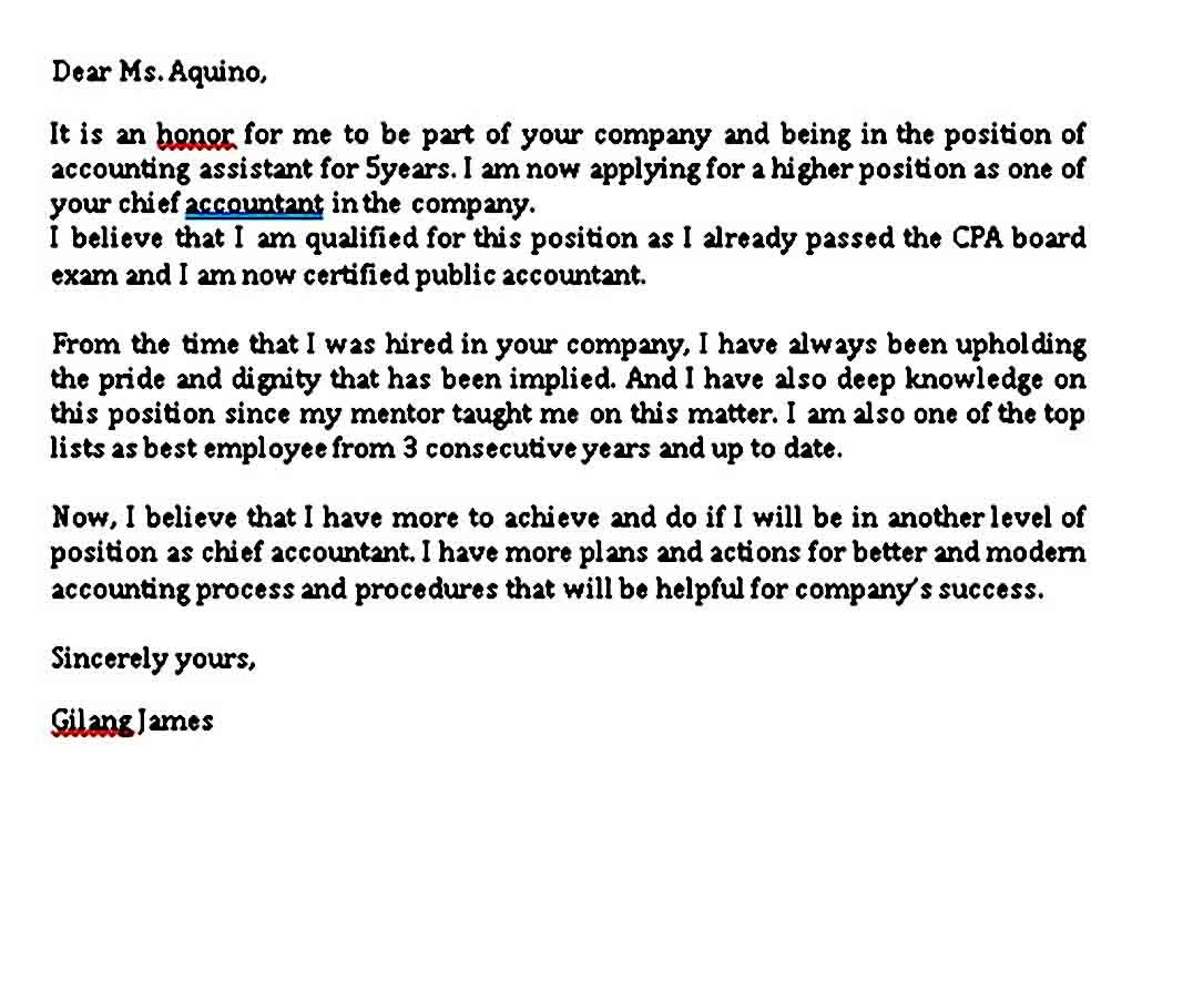 26++ Letter of intent sample for job promotion inspirations