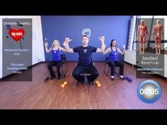 30 Minute Chair Workout For Seniors Sams Folding Chairs In Exercise Youtube U Tube Videos