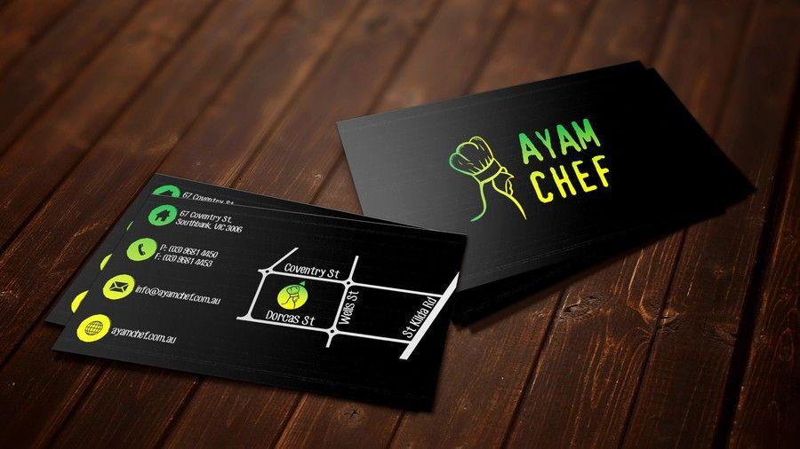 Freelance design an attractive business card for ayam chef by zixi freelance design an attractive business card for ayam chef by zixi colourmoves
