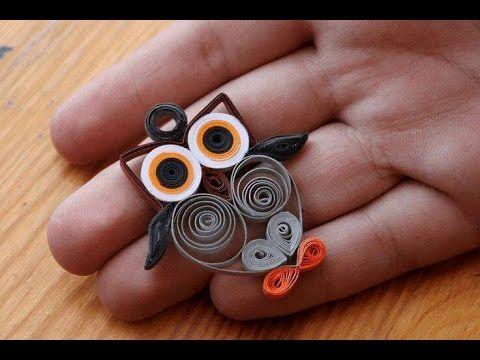 How To Make Paper Crafts Ideas كيف تصنع اشياء جميلة من الورق الملون و افكار اشغال يدوية بالورق سهلة Youtube Paper Quilling Paper Crafts Origami Quilling