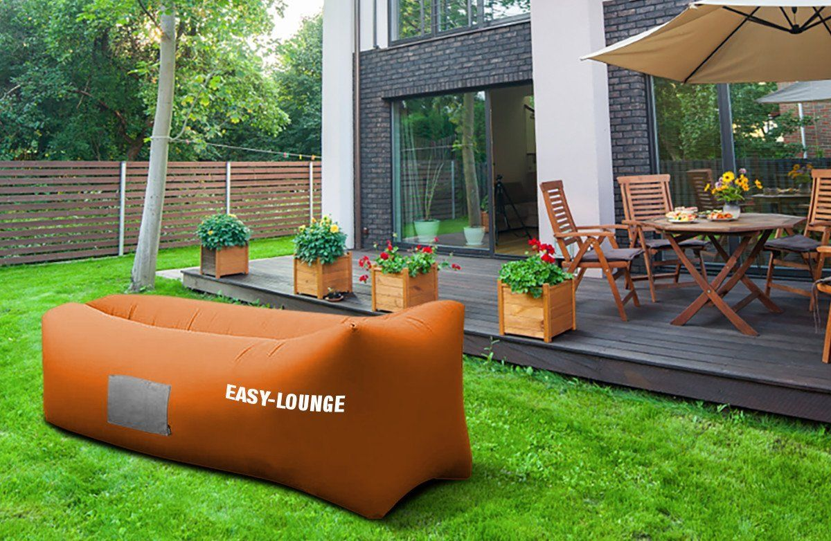 Authentic easy lounge inflatable lounger indoor outdoor air lounger