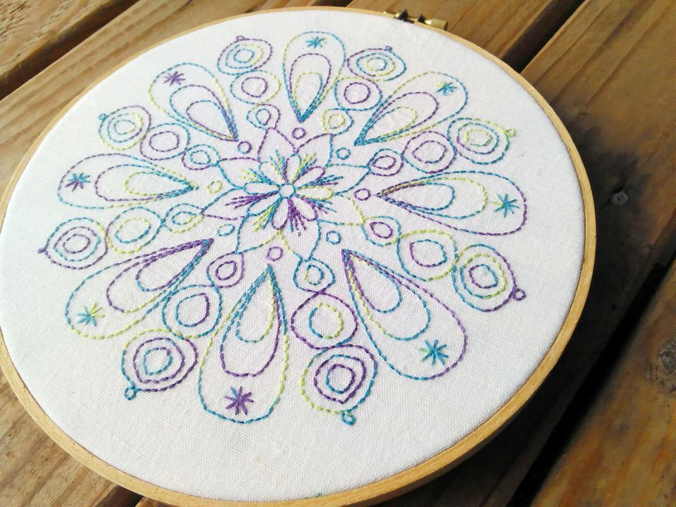Jump Into Redwork With These 8 Embroidery Patterns | Crafts ...