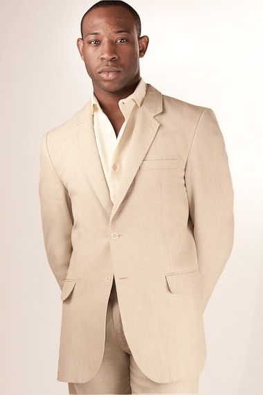 c2a1421064 Island Importer - Linen Monaco Suit Jacket - This fully lined, 100% linen,  tailored jacket features notched lapels and flap pockets.