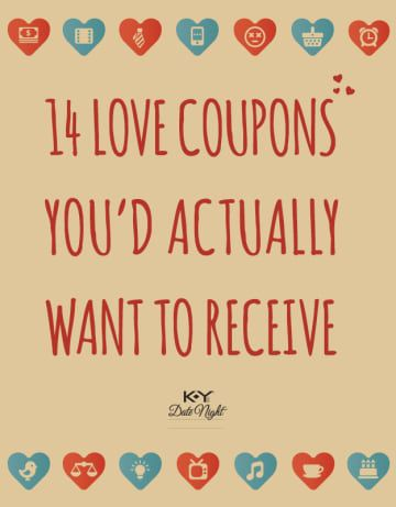 14 Love Coupons Youd Actually Want To Receive