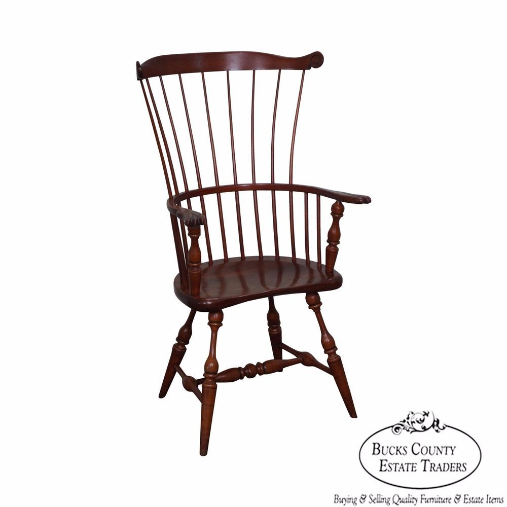 """Set of 2 Windsor Style Wood Doll Chair With Arms Love Seat 9x9x3/"""""""