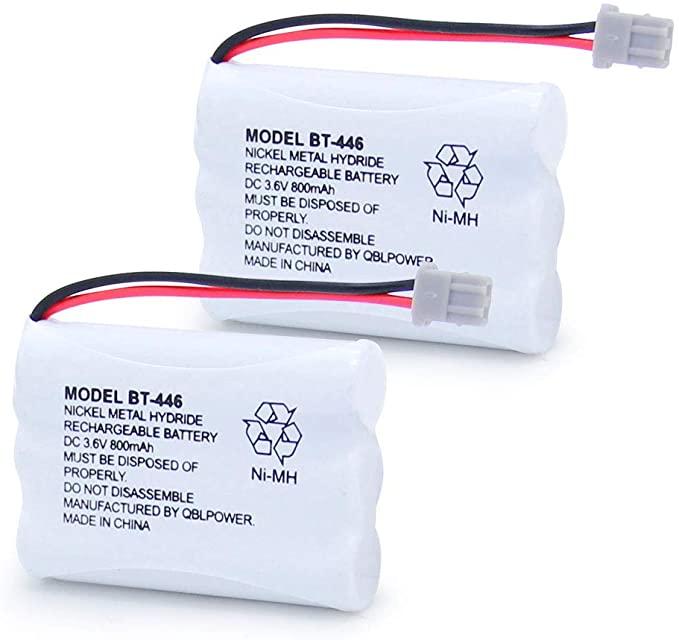 Amazon Com Qblpower Bt446 Bt 446 Cordless Phone Battery Rechargeable Compatible With Uniden Bbty0503001 Bt 1004 Bt 1005 Ge Cordless Phone Phone Battery Phone