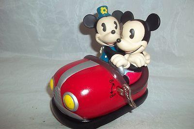 Vintage Mickey and Minnie Bumper Car