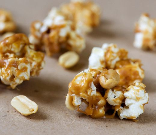 Peanut Butter Popcorn - Framed Cooks