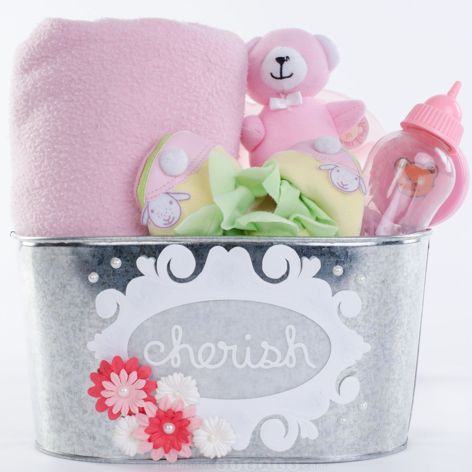 Super Easy And Super Cute DIY Baby Shower Gift!