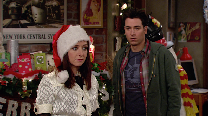 15 how i met your mother moments from how lily stole christmas that you never noticed