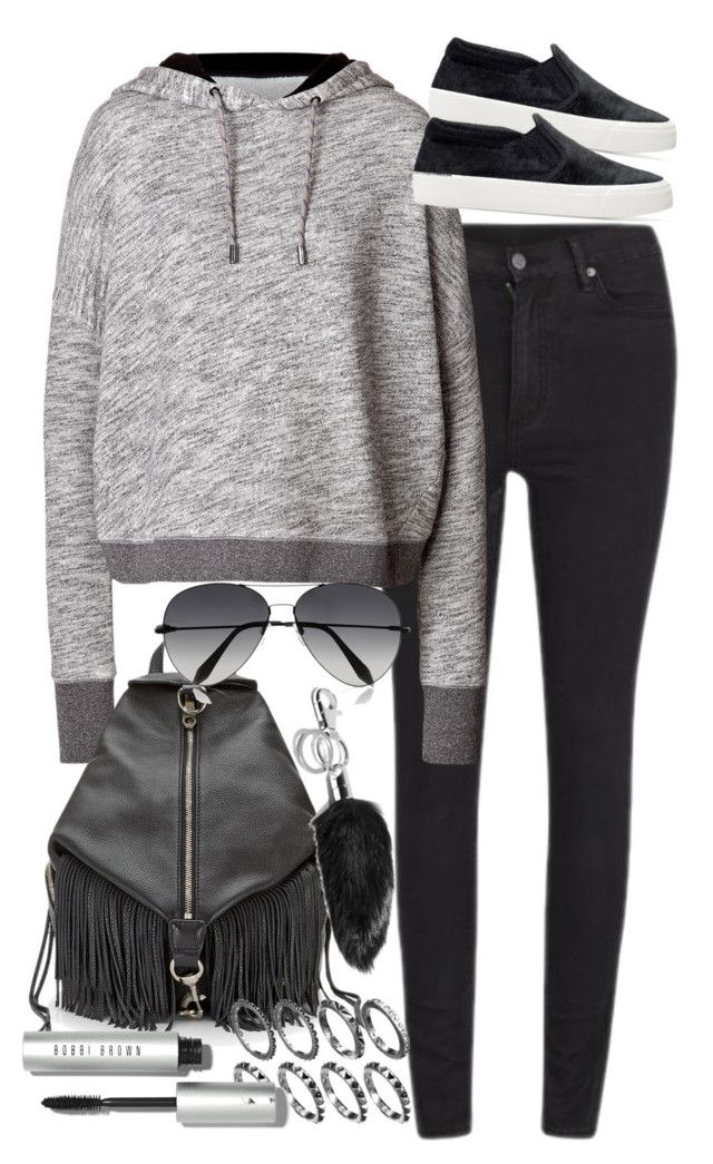 """""""Untitled #3298"""" by amylal ❤ liked on Polyvore featuring Cheap Monday, rag & bone, Rebecca Minkoff, Zara, Victoria Beckham, Bobbi Brown Cosmetics and Alexander Wang"""
