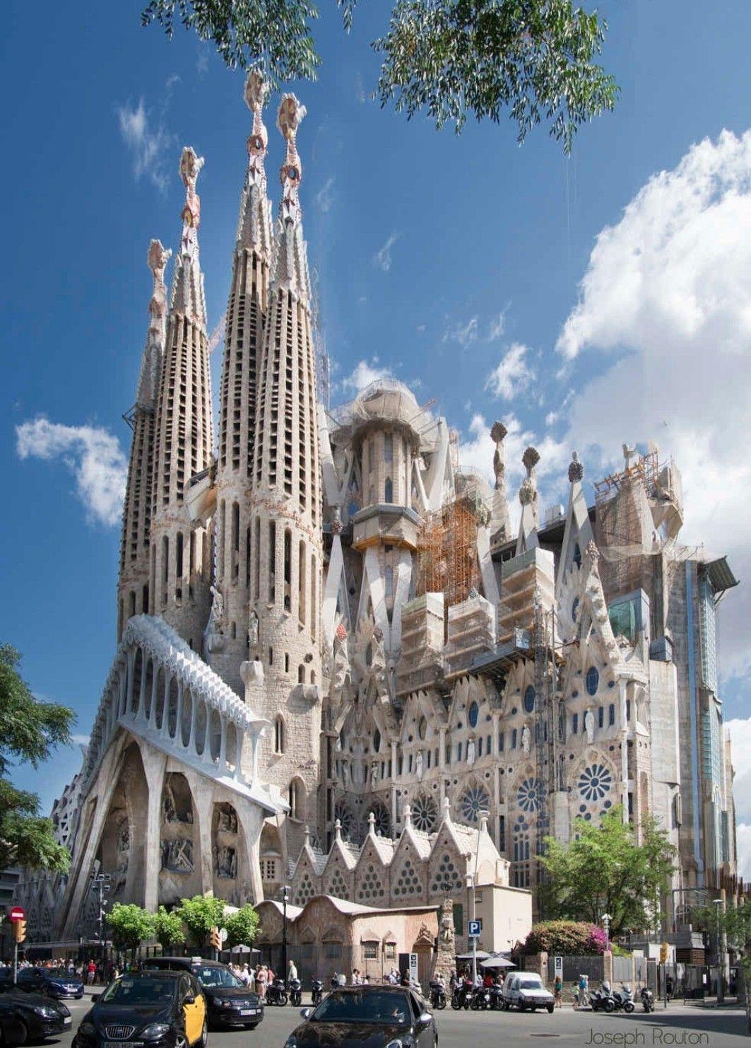 Sagrada Familia Arquitetura De Barcelona Igreja Barcelona Cidade