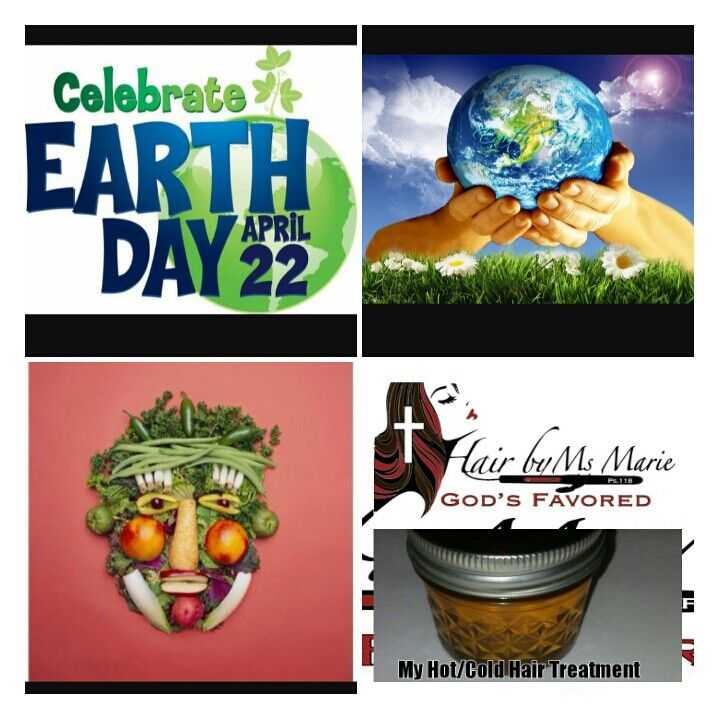 Enjoy earth day, today and every benefits of it, for our body, hair, and soul! #April 22nd #Earthday                            #HairByMsMarieGod'sFavored