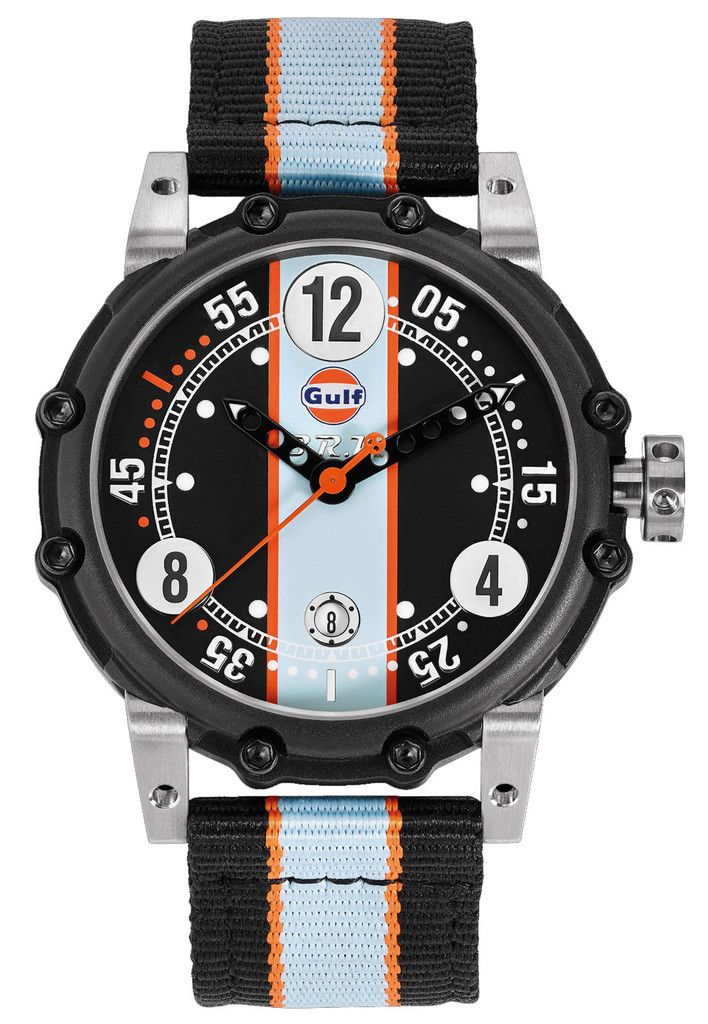 B.R.M. Watches BT6-46 Gulf Black Orange Hands Limited Edition #bezel-fixed #bracelet-strap-synthetic #brand-b-r-m-watches #case-material-black-pvd #case-width-46mm #chronograph-yes #clasp-type-tang-buckle #date-yes #delivery-timescale-call-us #dial-colour-silver #gender-mens #limited-edition-yes #luxury #movement-automatic #official-stockist-for-b-r-m-watches #packaging-b-r-m-watch-packaging #subcat-brm-bt6-46-bt12-46 #supplier-model-no-bt6-46-gulf…