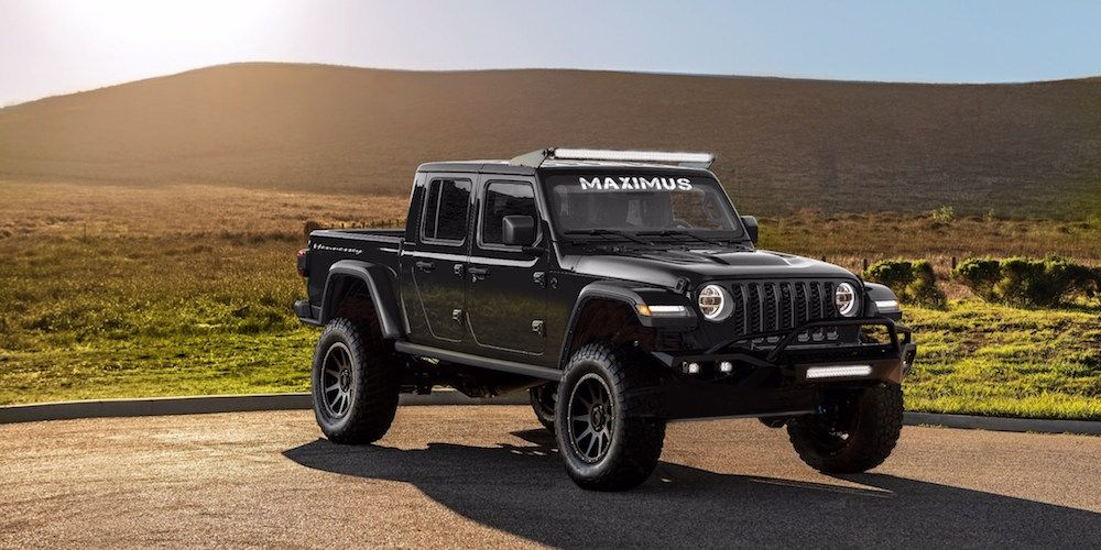 Badass Jeep Gladiator Hennessey S V8 Powered Maximus 1000 Jeep