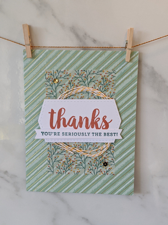 Greeting Card Handmade Thank