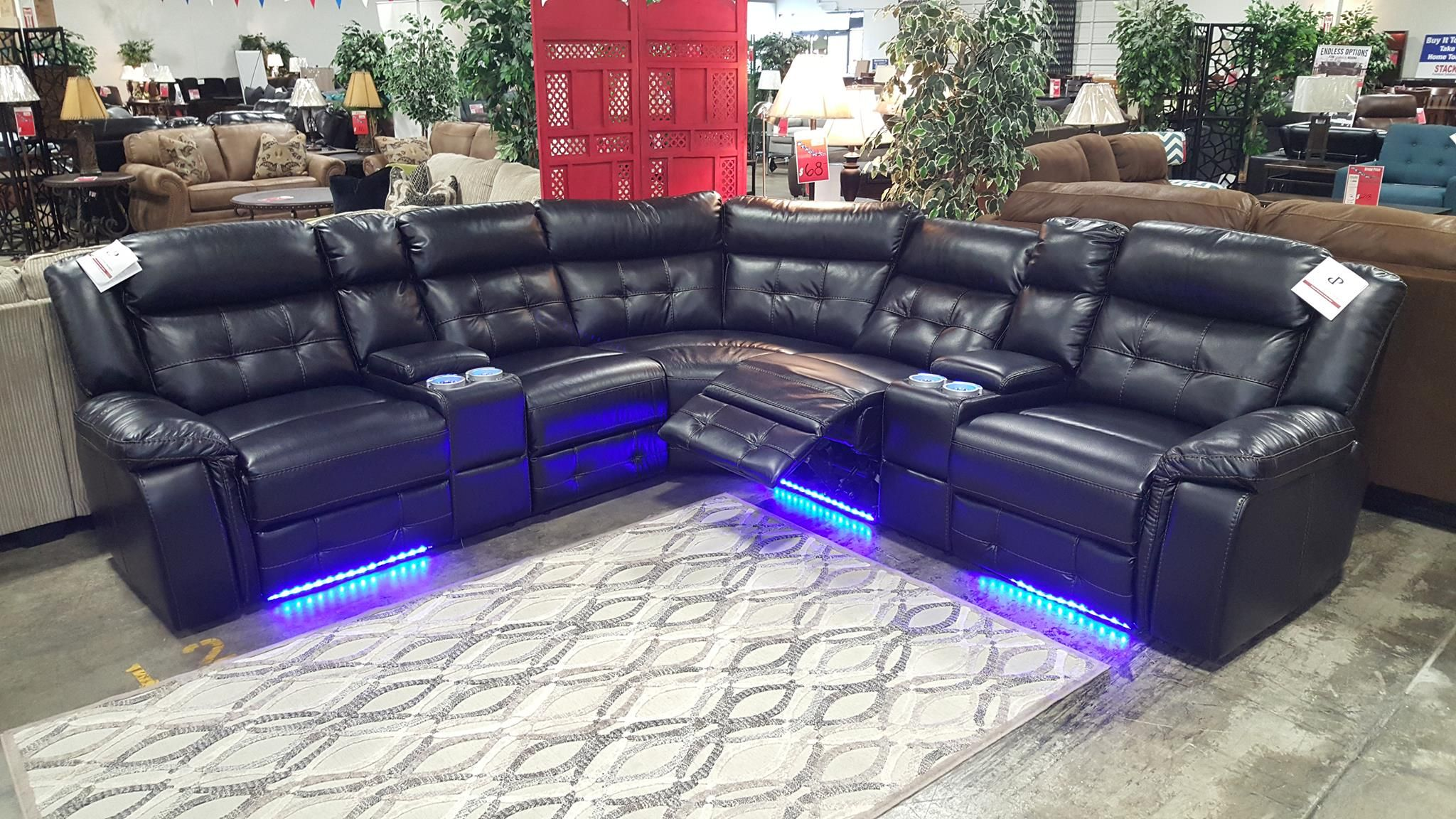 The Enterprise Has Arrived With Led Under Lighting Power Recliners
